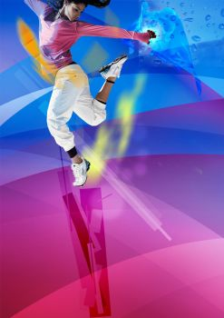 Poster Zumba by jderengerve