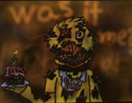 Nightmare chica  by Sabertoothfoxy