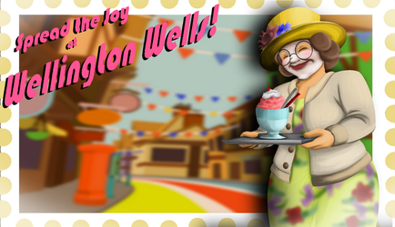 We Happy Few Postcard Contest Submission by Nylten