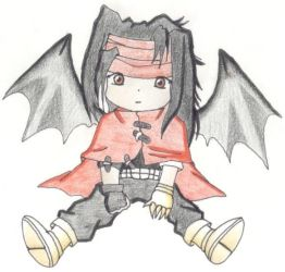 a Final Fantasy Character Chib by Happiness-Kun