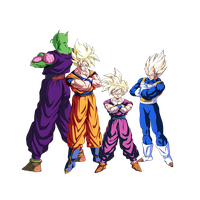 dragonball z cross group by PhantomStudio-Tommy
