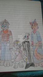 holloween  family by foxythepirate290