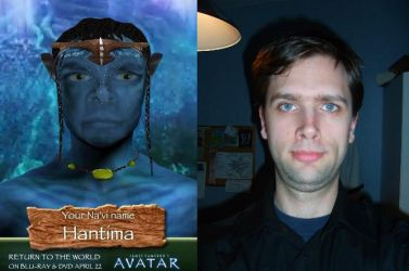 Me as a Avatar by EgonEagle