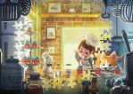 Puzzles of Imagination: Cupcake Bakery by IngridTan