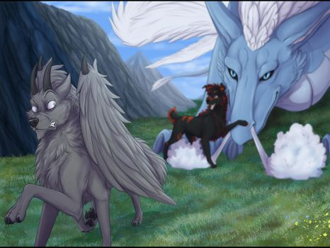 YCH - Meet my new friend (view 1) by Do-El