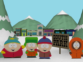 South Park Outskirts by Lolwutburger