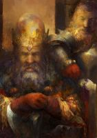 Dwarf King by IgorLevchenko