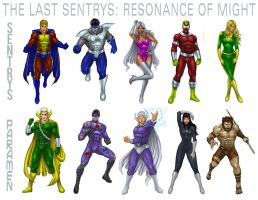 The Cast of RESONANCE OF MIGHT by johnbecaro