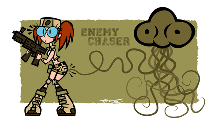 Enemy Chaser by Cool-Hand-Mike