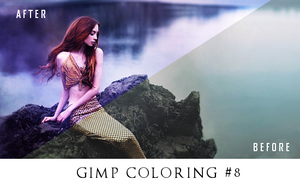 Gimp coloring #8 by oneyellowbee