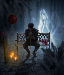 A Lonely Christmas by Jezzy-Art