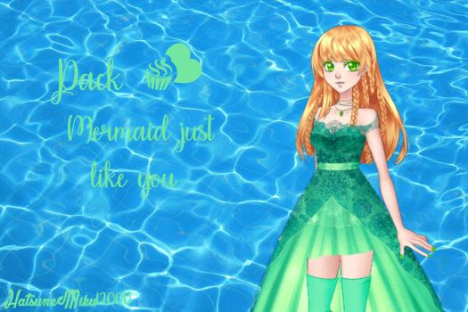 Mermaid just like you by HatsuneMiku12000