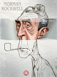 Norman Rockwell by RussCook