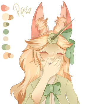 Beautiful Cinnamon Roll Too Good For This World by Piyos-Adoptables