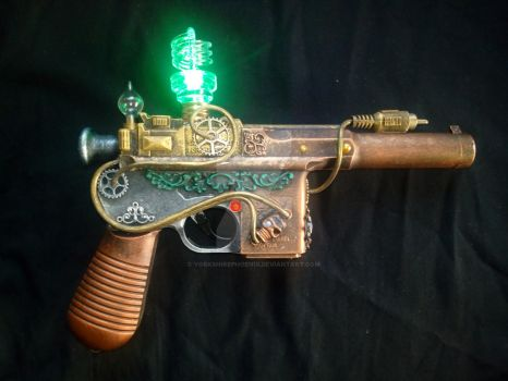 STEAMPUNK Custom toy gun mod - metallic colours