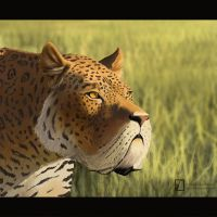 Smilodon by TheSax66