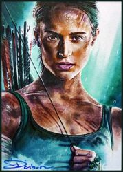 Tomb Raider 2018 by DavidDeb