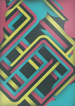 Abstract poster by iGooch