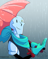 Undertale:: ParaverseTale:: It's Raining Somewhere by SpaceJacket