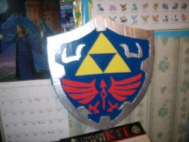Hylian Shield -in progress by Sea-Salt