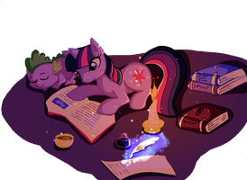 The Bookworm by Butterscotch25