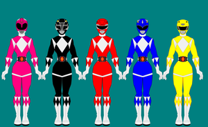 Mighty Morphin Power Rangers by PowerRangersWorld999