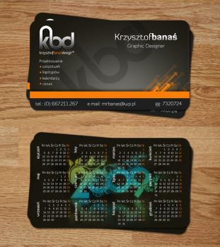 LeiMelendres 836 112 Business Card By Krzyho