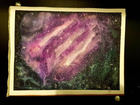 Another random painting of space by yorkshirepudding1990