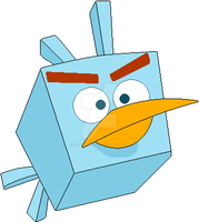 Angry Birds Space - Ice Bird (2018) by SuperMarioFan65