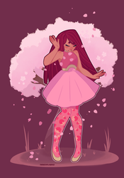 Cherry Blossom by TheArtOfFlorence