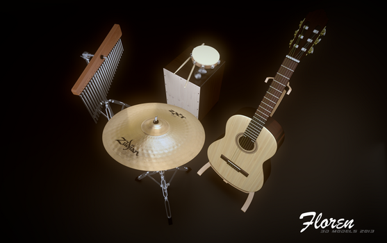 Strings and Percussions by fmarc