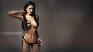Jessica Alba Touchup Wallpaper by ffadicted