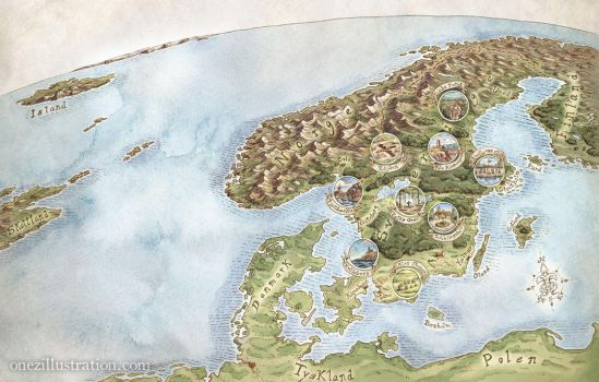Map of mysterious places in Sweden by last-mapmaker