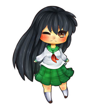 [Fanart]Kagome by VividFlow