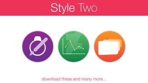 iWork Icons Style Two by hamzasaleem