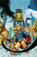 Supergirl 7 Cover by MahmudAsrar