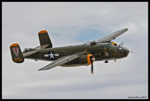 Jungle Air Force B-25 by AirshowDave