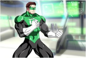 GREEN LANTERN by Claudius arts by BR-ONYX-STUDIOS