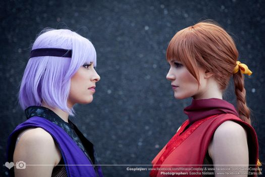 Ayane and Kasumi by Rinaca-Cosplay