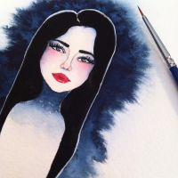 From sketchbook *Frost* by ChristineDim