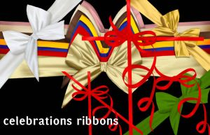 Celebrations Ribbons by roula33
