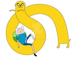 Finn And Jake : Laid Back by Navicii