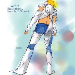 Enoch(El Shadai)-Fanart by Manmoss77