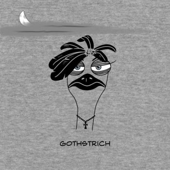 Gothstrich_T-Shirt by atomicsnarl