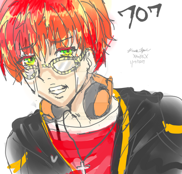 707 over due tears by XtheXKXX
