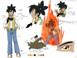 Shota Cailen Ref Sheet UPDATE by StephODell