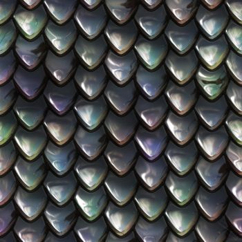 Metal scales seamless texture 1 by jojo-ojoj
