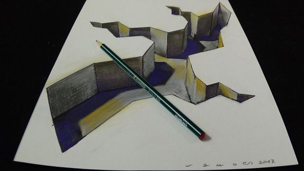 Anamorphic Gap by VamosArt