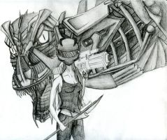 Mecha Rex - Not Finishing by SavannaEGoth