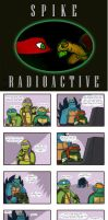 Tmnt Spike Radioactive cover by Dragona15